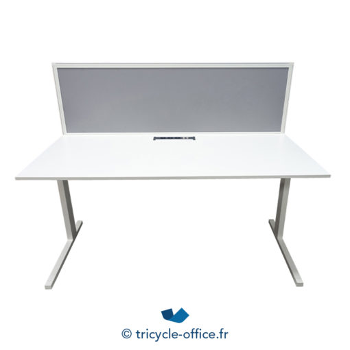 Tricycle Office Mobilier Bureau Occasion Bureau Blanc Droit 1
