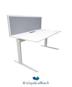 Tricycle Office Mobilier Bureau Occasion Bureau Blanc Droit 2
