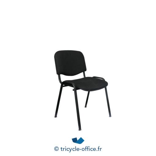 Tricycle Office Mobilier Bureau Occasion Chaise Visiteur Noire 1