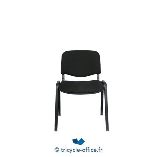 Tricycle Office Mobilier Bureau Occasion Chaise Visiteur Noire 2