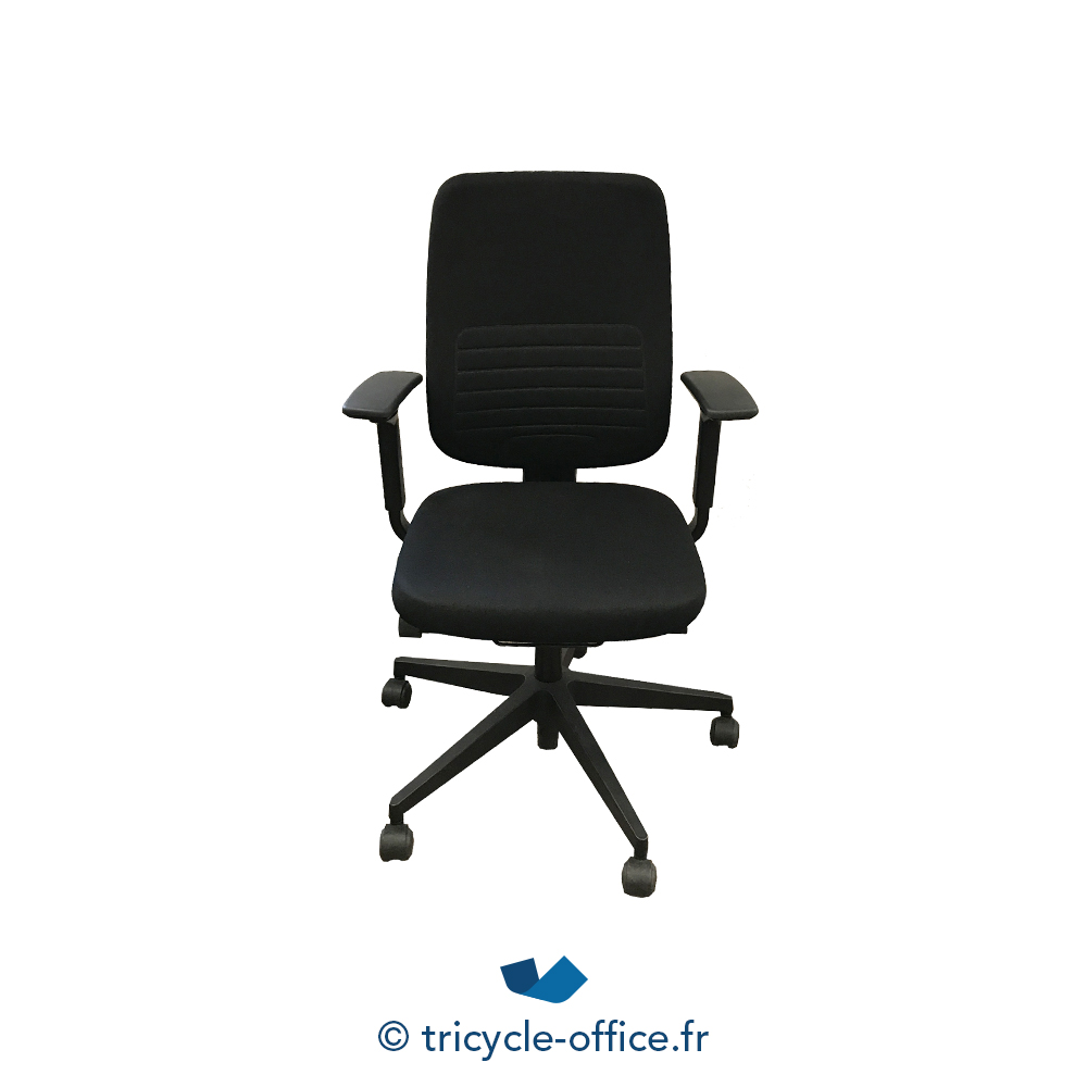 fauteuil de bureau reply steelcase occasion tricycle office. Black Bedroom Furniture Sets. Home Design Ideas