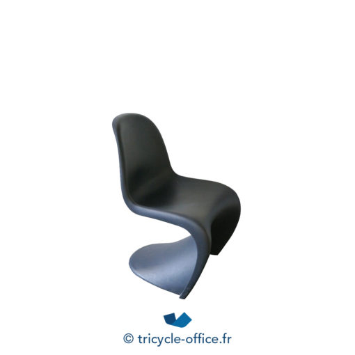 Tricycle Office Mobilier Bureau Occasion Chaise Panton Vitra Basic Dark 2