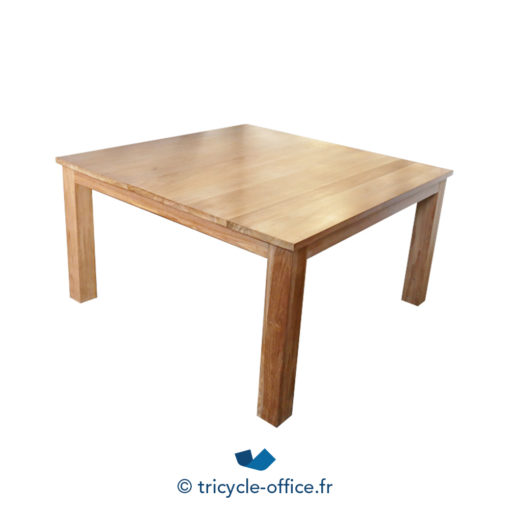 Tricycle Office Mobilier Bureau Occasion Table De Reunion Carree En Bois 2