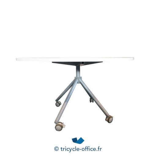 Tricycle Office Mobilier Bureau Occasion Table Ronde A Roulette De Reunion 3