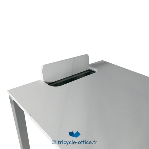 Tricycle Office Mobilier Bureau Occasion Bureau Droit Blanc 1