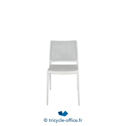 Tricycle Office Mobilier Bureau Occasion Chaise Coque Blanc 1