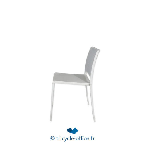 Tricycle Office Mobilier Bureau Occasion Chaise Coque Blanc 2