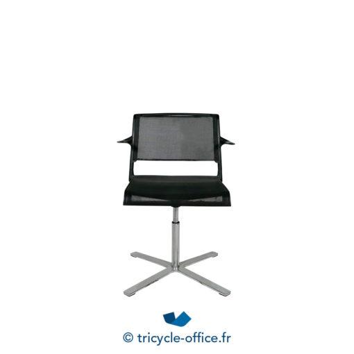 Tricycle Office Mobilier Bureau Occasion Chaise De Reunion Avec Accoudoirs Aline 1