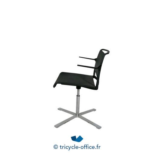 Tricycle Office Mobilier Bureau Occasion Chaise De Reunion Avec Accoudoirs Aline 2
