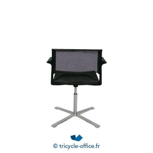 Tricycle Office Mobilier Bureau Occasion Chaise De Reunion Avec Accoudoirs Aline 3