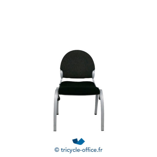 Tricycle Office Mobilier Bureau Occasion Chaise Visiteur Noir 1