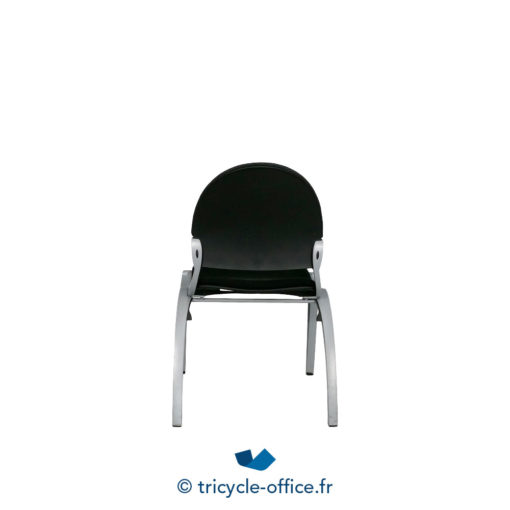Tricycle Office Mobilier Bureau Occasion Chaise Visiteur Noir 3