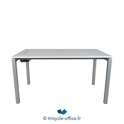 Tricycle Office Mobilier Bureau Occasion Bureau Droit Blanc 4