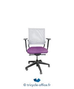Tricycle Office Mobilier Bureau Occasion Fauteuil De Bureau Netwin Violet 1
