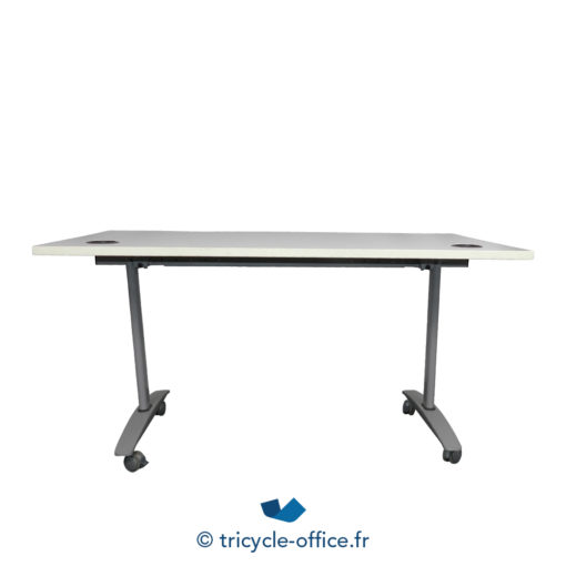 Tricycle Office Mobilier Bureau Occasion Table Basculante Avec Passe Cable 2