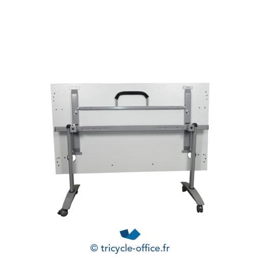 Tricycle Office Mobilier Bureau Occasion Table Basculante Avec Passe Cable 3