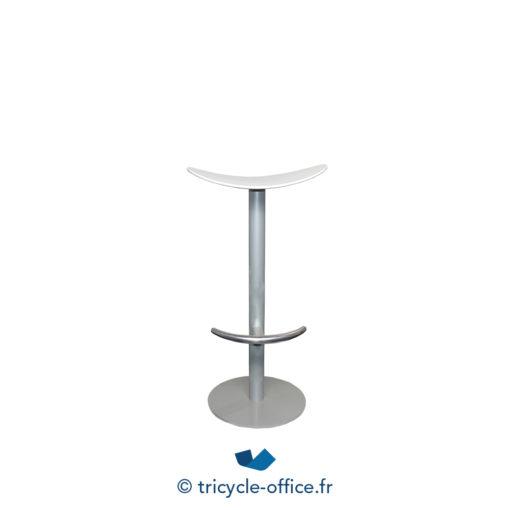 Tricycle Office Mobilier Bureau Occasion Tabouret Haut Blanc 1