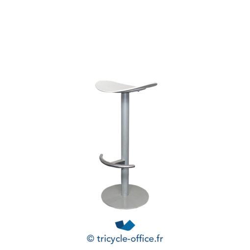 Tricycle Office Mobilier Bureau Occasion Tabouret Haut Blanc 2