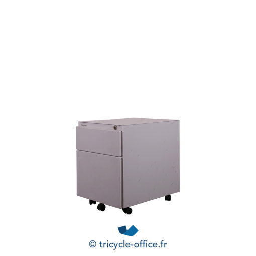 Tricycle Office Mobilier Bureau Occasion Caisson 2 Tiroirs 2