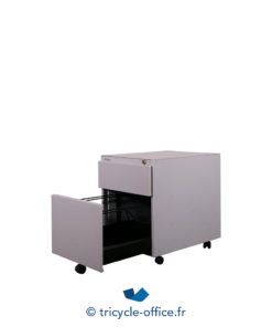 Tricycle Office Mobilier Bureau Occasion Caisson 2 Tiroirs 3