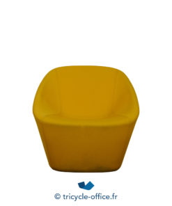 Tricycle Office Mobilier Bureau Occasion Chauffeuse Accueil Jaune (1)