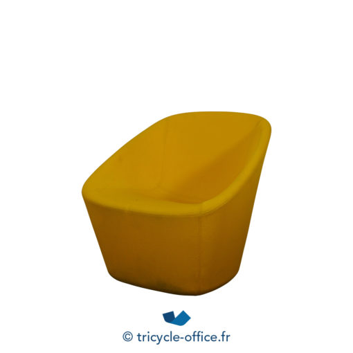 Tricycle Office Mobilier Bureau Occasion Chauffeuse Accueil Jaune (2)