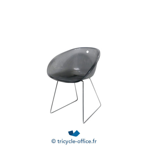 Tricycle Office Mobilier Bureau Occasion Chaise Coque Transparente (3)
