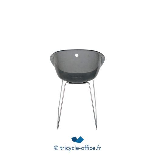 Tricycle Office Mobilier Bureau Occasion Chaise Coque Transparente (4)