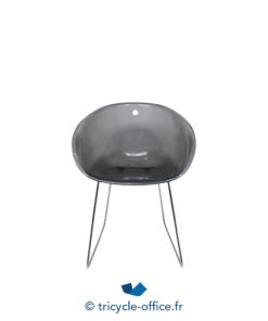 Tricycle Office Mobilier Bureau Occasion Chaise Coque Transparente (5)