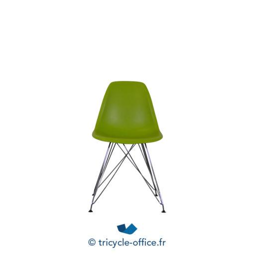 Tricycle Office Mobilier Bureau Occasion Chaise Piètement Eiffel Chromé (3)