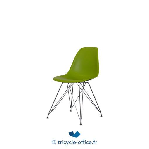 Tricycle Office Mobilier Bureau Occasion Chaise Piètement Eiffel Chromé (5)
