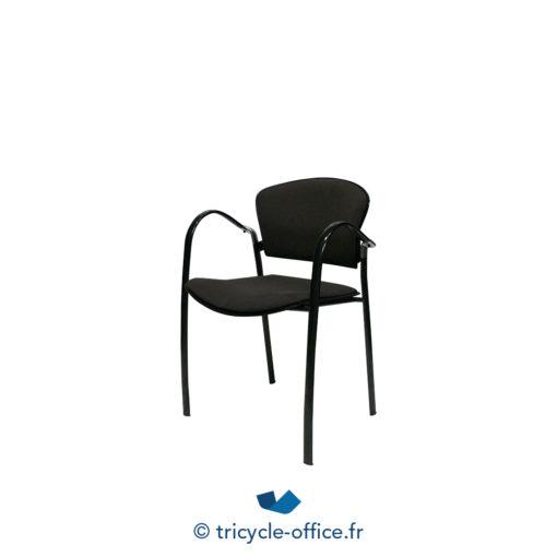 Tricycle Office Mobilier Bureau Occasion Chaise Empilable Avec Accoudoirs Marron 1