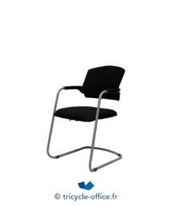 Tricycle Office Mobilier Bureau Occasion Chaise Visiteur Empilable Avec Accoudoirs 1