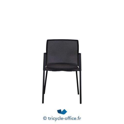 Tricycle Office Mobilier Bureau Occasion Chaise Visiteur Noire 3