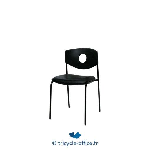 Tricycle Office Mobilier Bureau Occasion Chaises Visiteur Dossier Trou 1