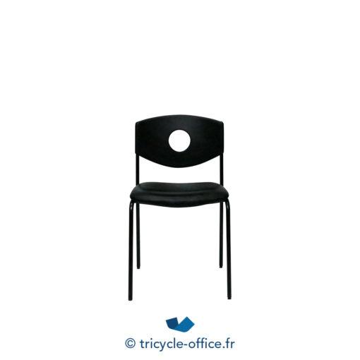 Tricycle Office Mobilier Bureau Occasion Chaises Visiteur Dossier Trou 2