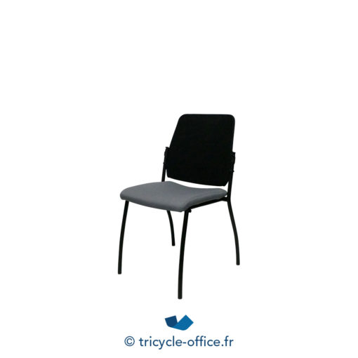 Tricycle Office Mobilier Bureau Occasion Chaises Visiteurs Noires (1)