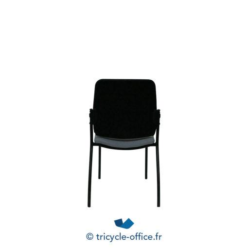 Tricycle Office Mobilier Bureau Occasion Chaises Visiteurs Noires (2)