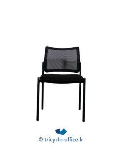 Tricycle Office Mobilier Bureau Occasion Chaises Visiteurs Noires (3)