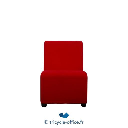 Tricycle Office Mobilier Bureau Occasion Chauffeuse Rouge 1