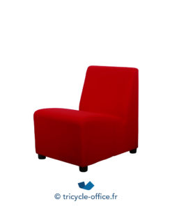 Tricycle Office Mobilier Bureau Occasion Chauffeuse Rouge 2