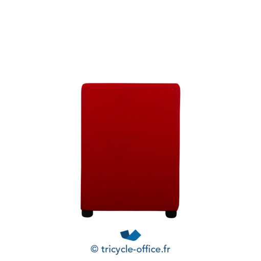 Tricycle Office Mobilier Bureau Occasion Chauffeuse Rouge 3