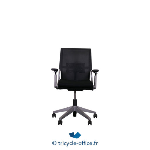 Tricycle Office Mobilier Bureau Occasion Fauteuil De Bureau Comforto 59 Haworth Noir Anthracite