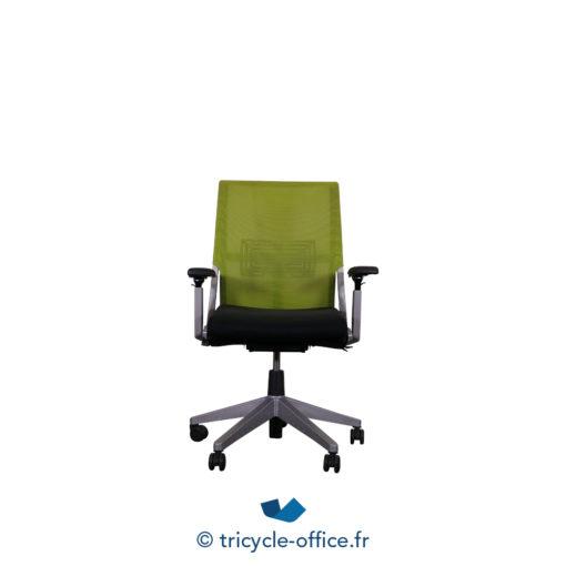 Tricycle Office Mobilier Bureau Occasion Fauteuil De Bureau Comforto 59 Haworth Noir Vert