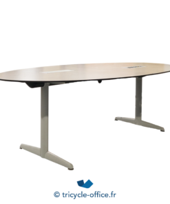 Tricycle Office Mobilier Bureau Occasion Table De Reunion Ovale Bois 6