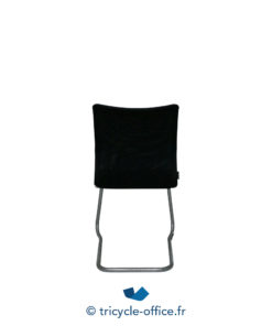 Tricycle Office Mobilier Bureau Occasionchaises Luge Tissu Noir 3