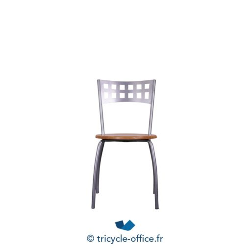 Tricycle Office Mobilier Bureau Occasion Chaise Bois Metal (2)