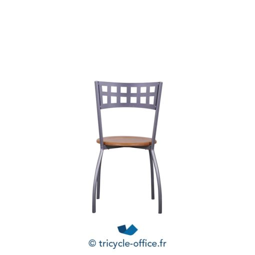 Tricycle Office Mobilier Bureau Occasion Chaise Bois Metal (3)