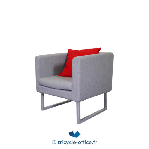 Tricycle Office Mobilier Bureau Occasion Chauffeuse Grise (1)