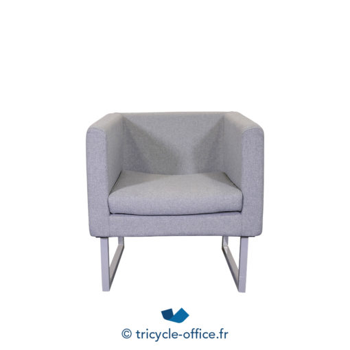 Tricycle Office Mobilier Bureau Occasion Chauffeuse Grise (3)